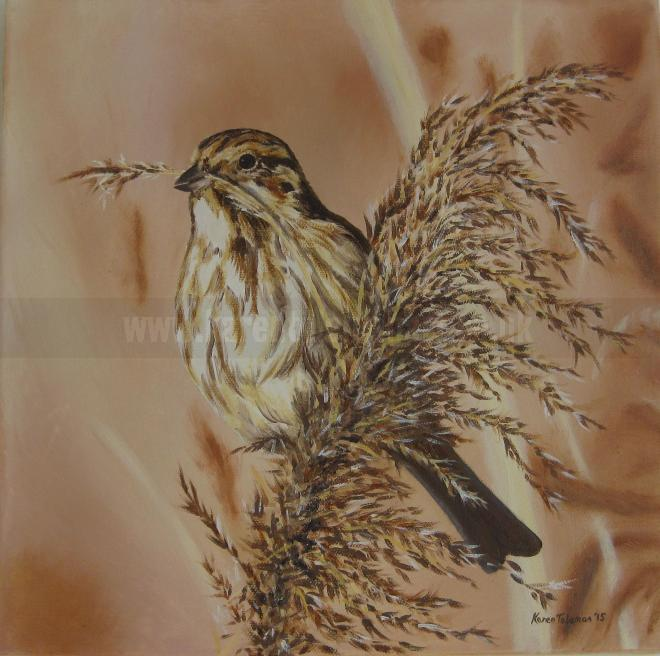 Photo of artwork: Reed Bunting