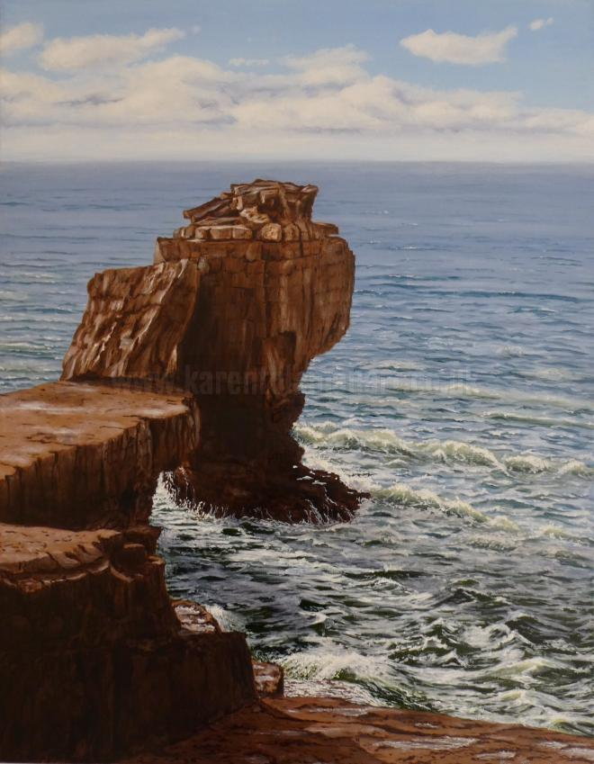 Photo of artwork: Spring Equinox, Pulpit Rock