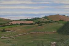 Small preview of Abbotsbury - towards St Catherine's from Bishops Lane